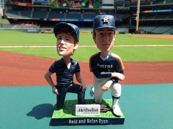 Reid and Nolan Ryan Bobblehead for 10,000 fans