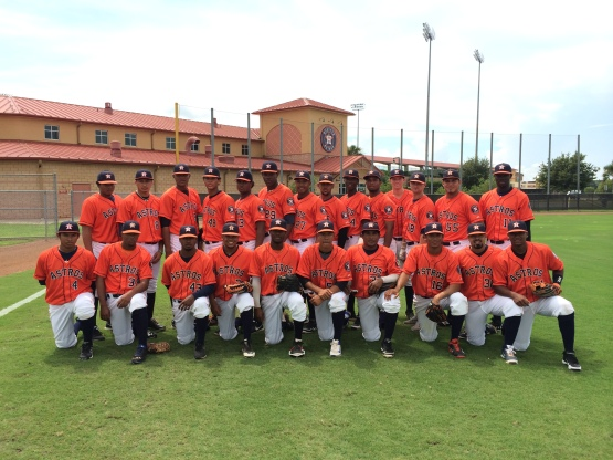 GCL Astros wore high socks for Gordy