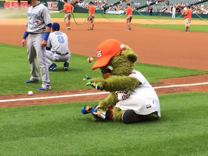 Orbit plays with the Orbit and Bautista dolls