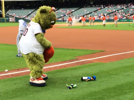 R.I.P., Orbit doll.