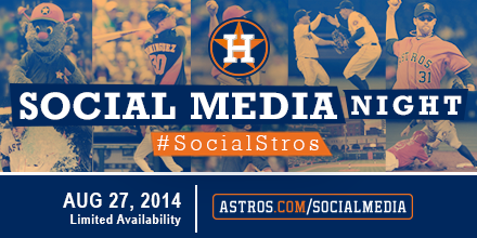 Social Media Night is August 27!