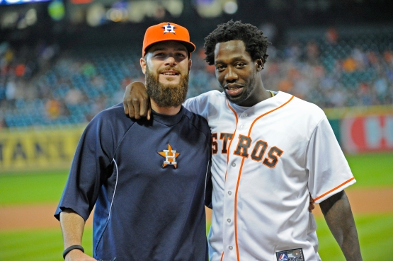 Keuchel and Pat Beverley