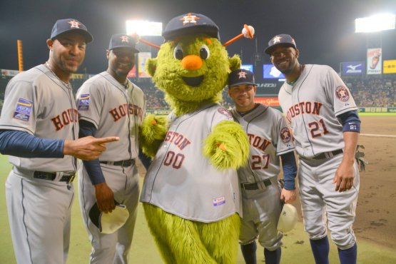 All five Astros' MLB All-Stars!