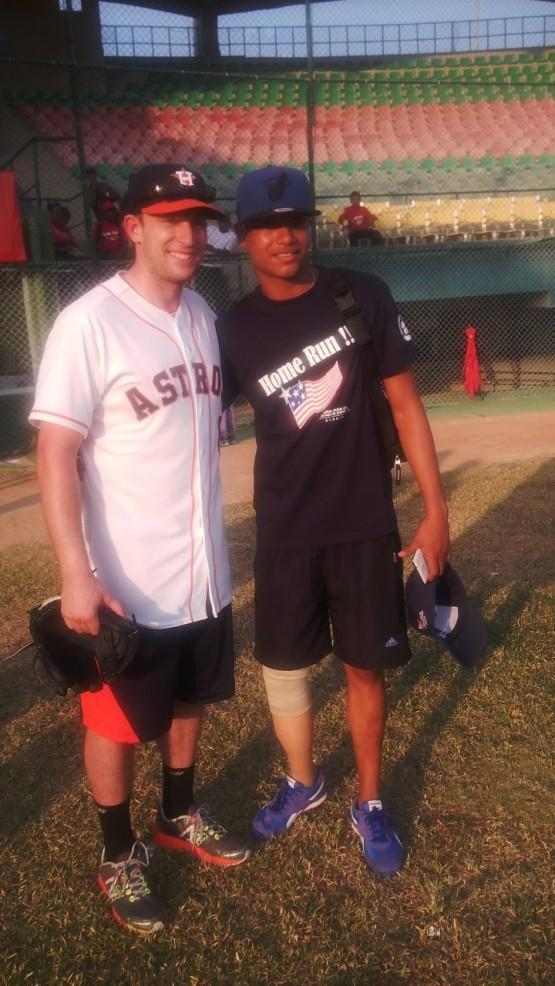 With Deimer Morelos