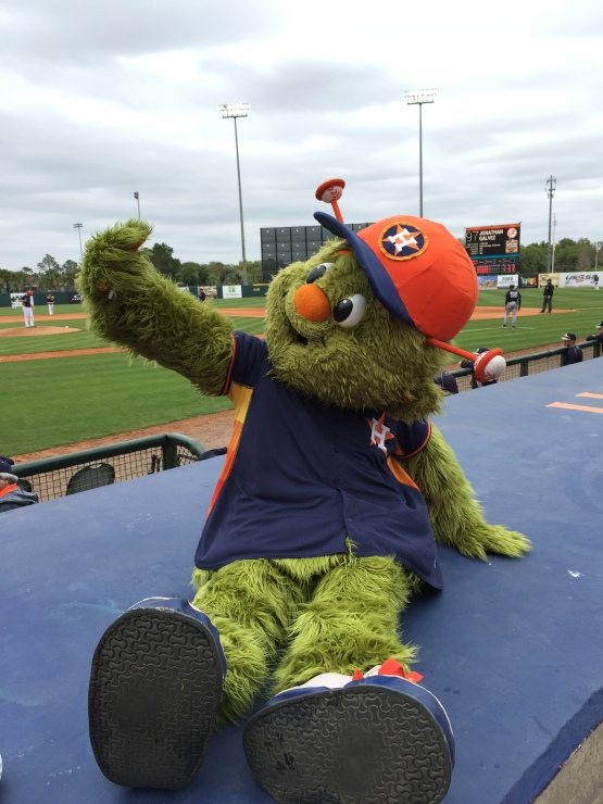 But first let Orbit take a selfie