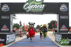 Cypress Triathlon Finish 3