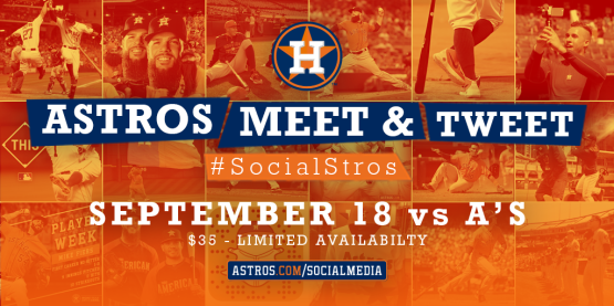 Astros Meet & Tweet